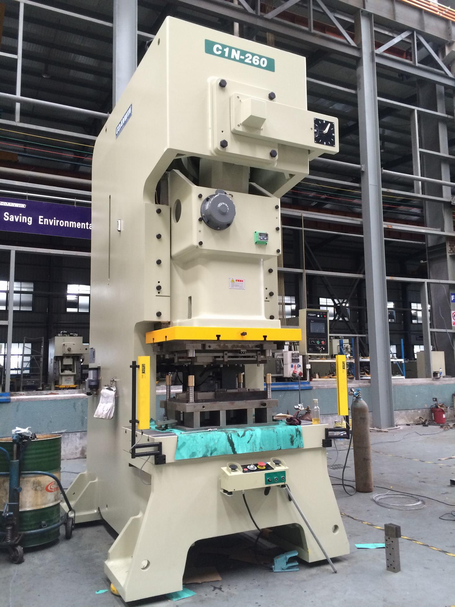 C-Frame Single Crank Mechanical Press/Power Press (C1N-260ton)