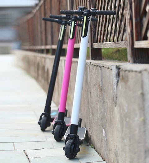 Smartek Lightest Foldable Urban Carbon Fiber Aluminum Electric Scooter Patinete Electrico S-020