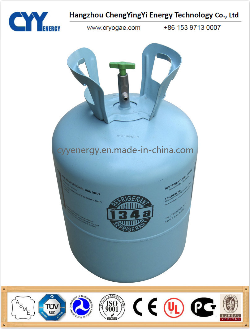 Refrigerant Gas R134A (R134A, R404A, R410A, R422D, R507) with 99.8% Purity