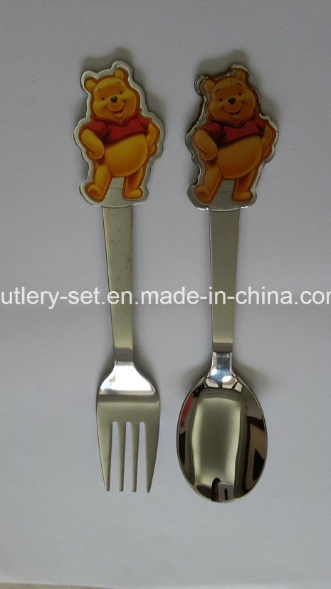 Child′s Stainless Steel Flatware
