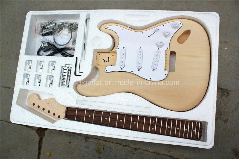 Hanhai Music / St Style Electric Guitar Kit / DIY Guitar