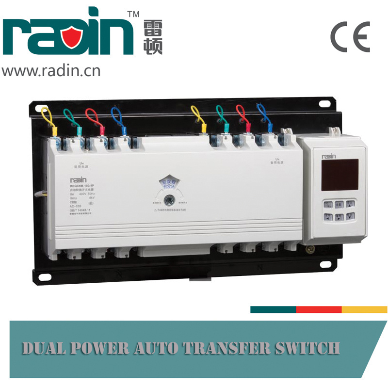 Rdq3nm Series Dual Power Automatic Transfer Switch, CB Type Auto Changer Over Switch