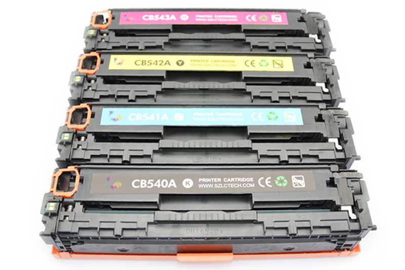 Genuine Color Toner Cartridge 125A CB540A/541A/542A/543A for HP Printer Laser