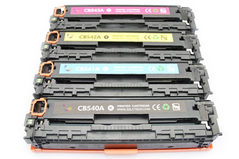 Genuine Color Toner Cartridge 125A CB540A/541A/542A/543A for HP