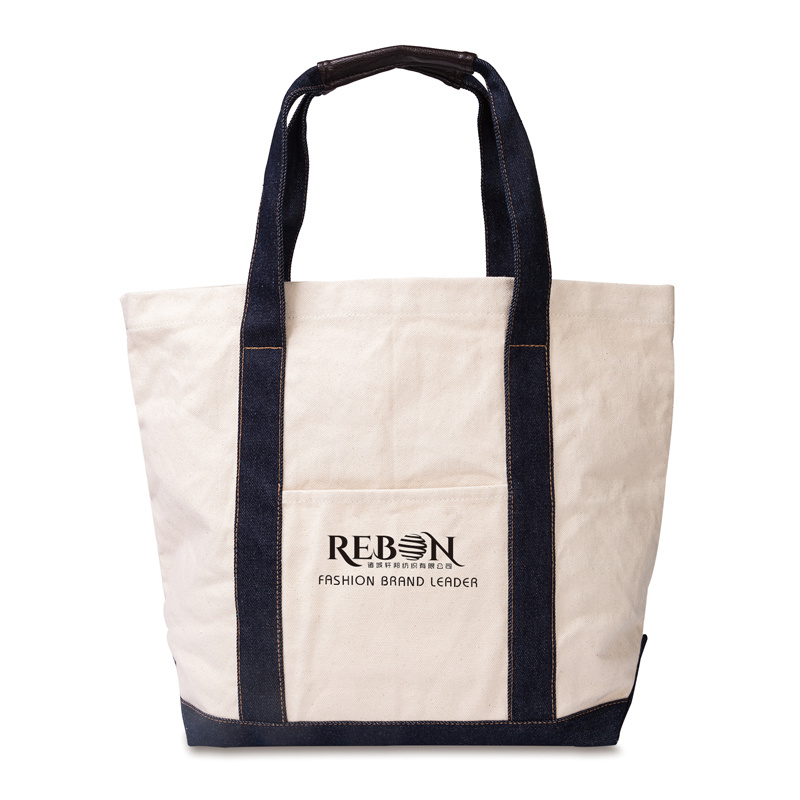 Canvas Shopping Tote Bag/Reusable Grocery Tote Bag/Colorful Cotton Tote Bag