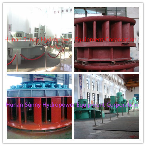 Kaplan Hydro (Water) Turbine Generator / Hydropower / Hydroturbine