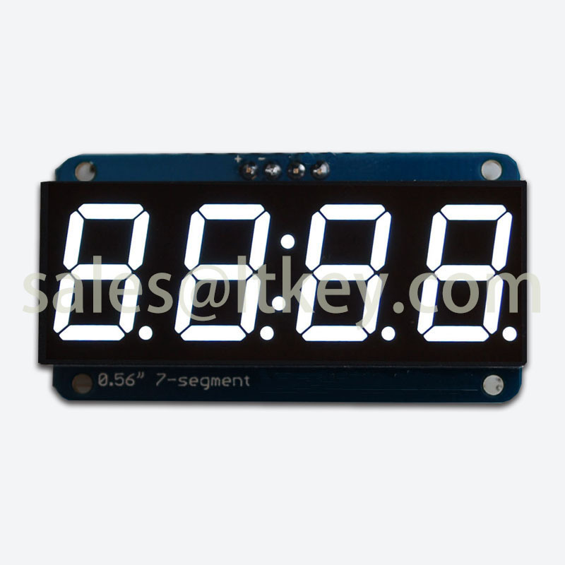 0.56 Inch 4 Digits 7 Segment Clock LED Display