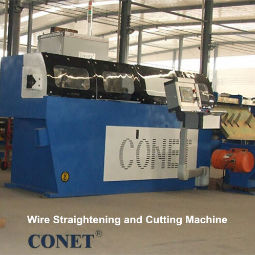 2016 Hot Sale Patented 180 M/Min. Fast Speed Wire Straightening and Cutting Machine