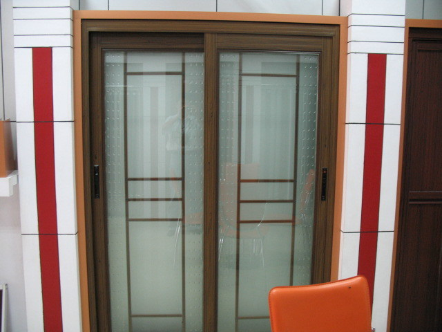 Anodized Aluminium Folding Sliding Door System Aluminum Window