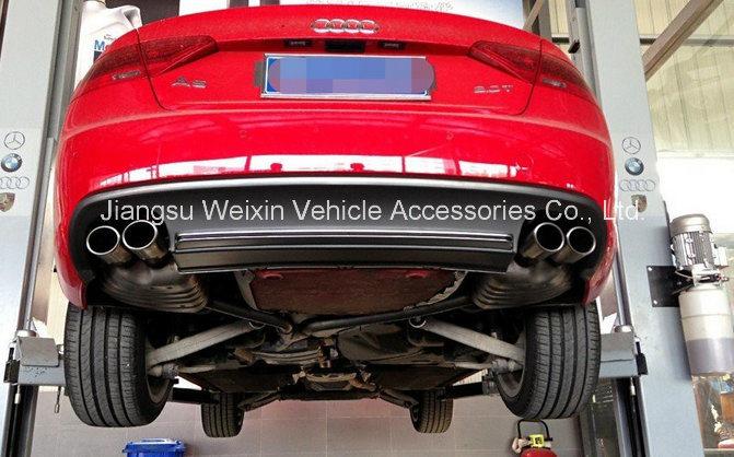 "High Quality S5 (2D/4D) 2012-2015"" Car Front Lip Bumper Spoiler"