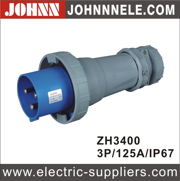IP44 4p 16A Plug for Industrial