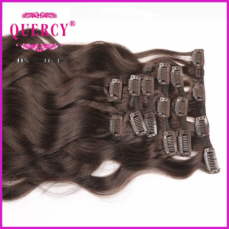 Any Inch Top Quality 100% Remy Human Clip Hair