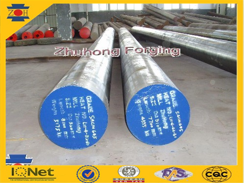 Hot Forged and Polished Steel Bar AISI4140 for Export