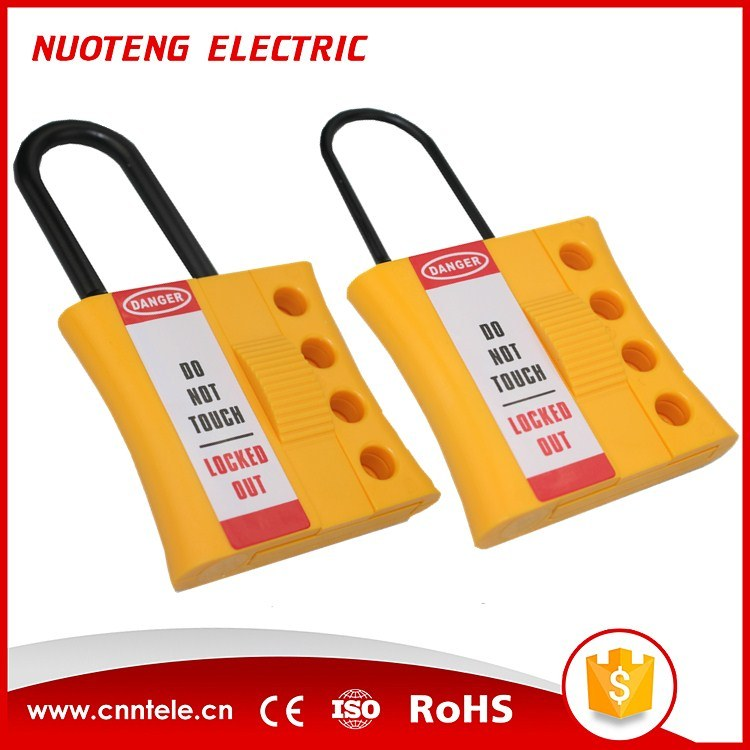3mm 6mm 4 Hole Non Conductive Nylon Plastic Lockout Hasp