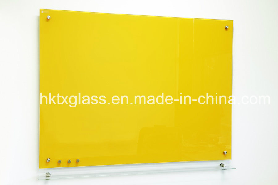 Magnetic Tempered Glass White Board for Writing