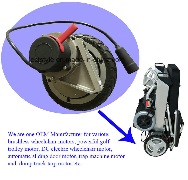 500W 115V AC Road Sweeper Motor for Floor Sweeper Machine