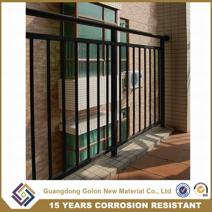 Customized Good Quality Iron Terrace Railing Handrail