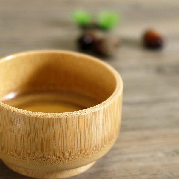 Natural Bamboo Bowl Child Health Eco-Friendly Bamboo Bowls Tableware