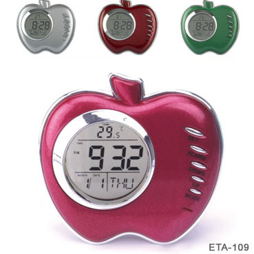 Alarm clock apple : Plane ticket to hawaii