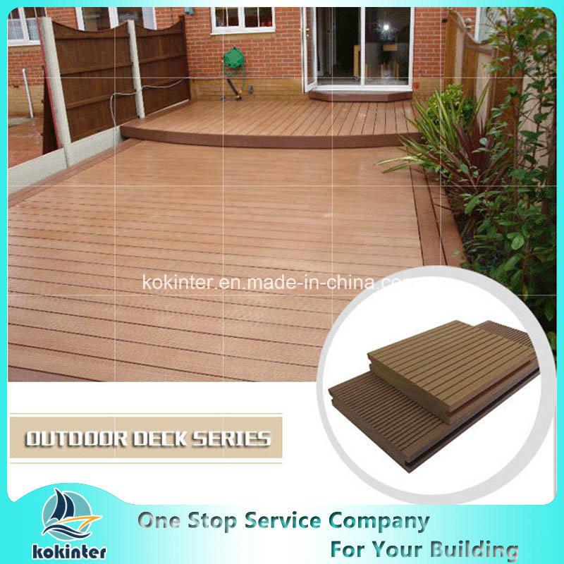 Beach Wood Timber WPC Crack-Resistant Waterproof Decking