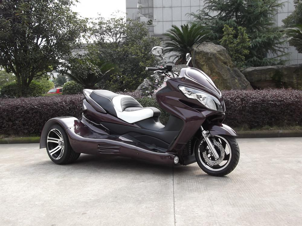 300cc 3 Wheel Trike 2 Seat Legal Street Motorcycles For