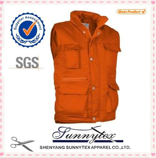2016 OEM Cheap Outdoor Fishing Custom Multipocket Vest