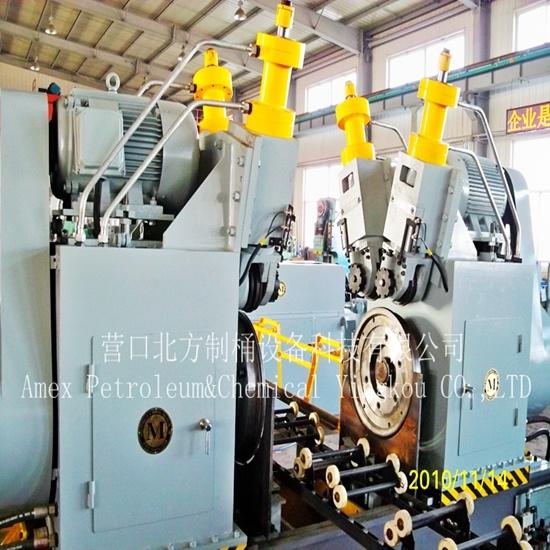Steel Drum Making Machine Edge-Curling Machine/Seaming Machine/Crimping Machine