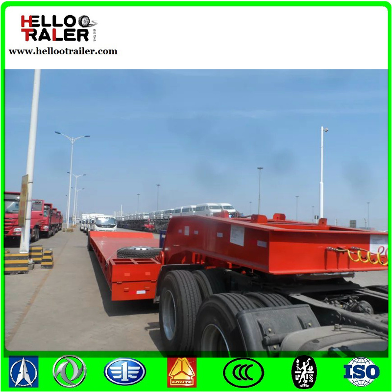 3 Lines 6 Axles 100 Ton Multi Axle Trailer for Sale