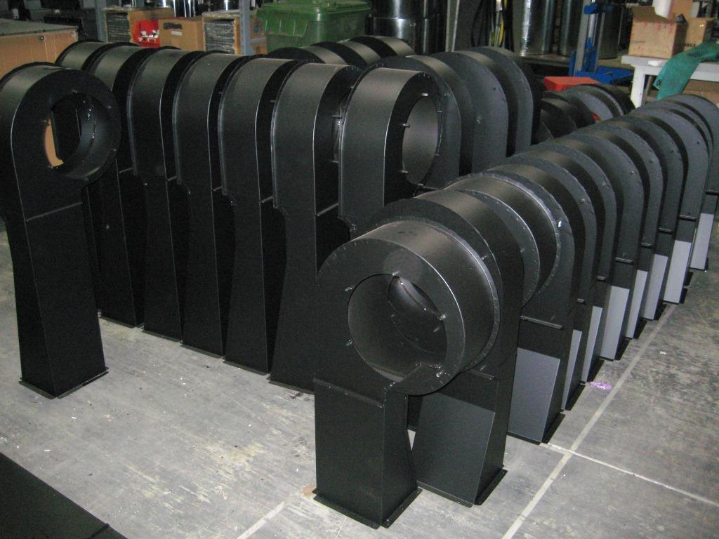 Big Metal Stamping Part for Blower Housing