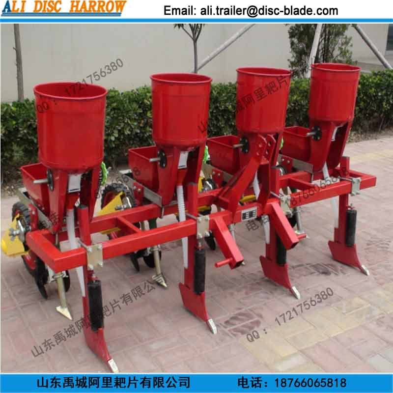Agricultural 4 Rows Corn Planter Soybean Seeder with Fertilizer