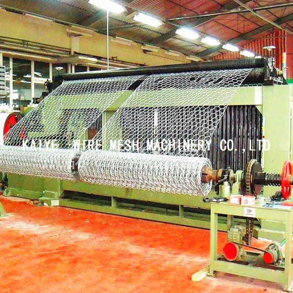 Hexagonal Wire Mesh Netting Gabion Machine