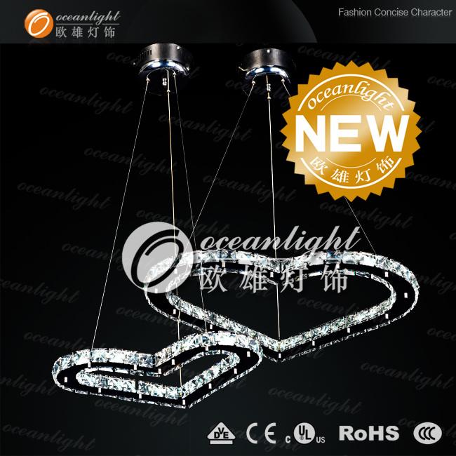 Italian high power LED modern crystal chandelier OM88033-L60