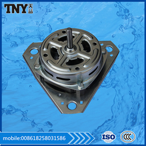 White Color CCA Motor Washing Machine Motor