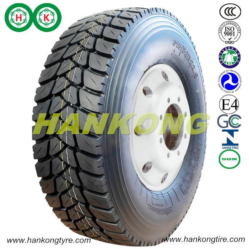 TBR Tyre Wheels All Steel Radial Truck Tyre Mine Tyre