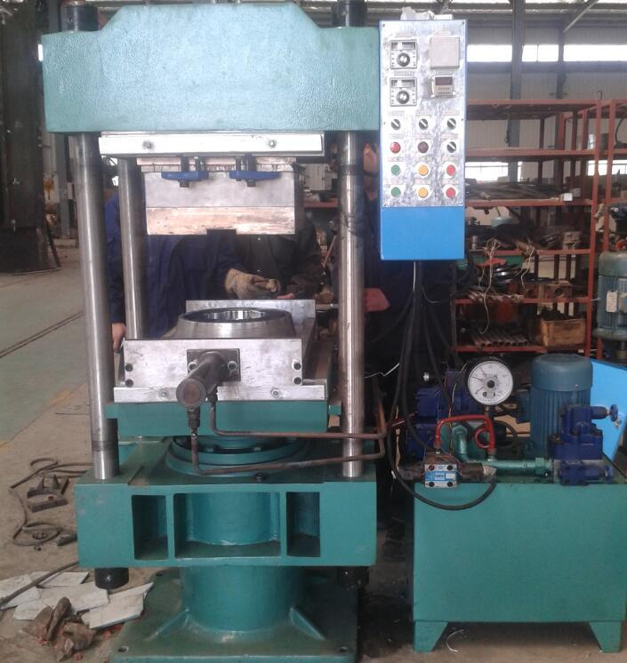 Hydraulic Vulcanizer Press Machine for Silicon Rubber