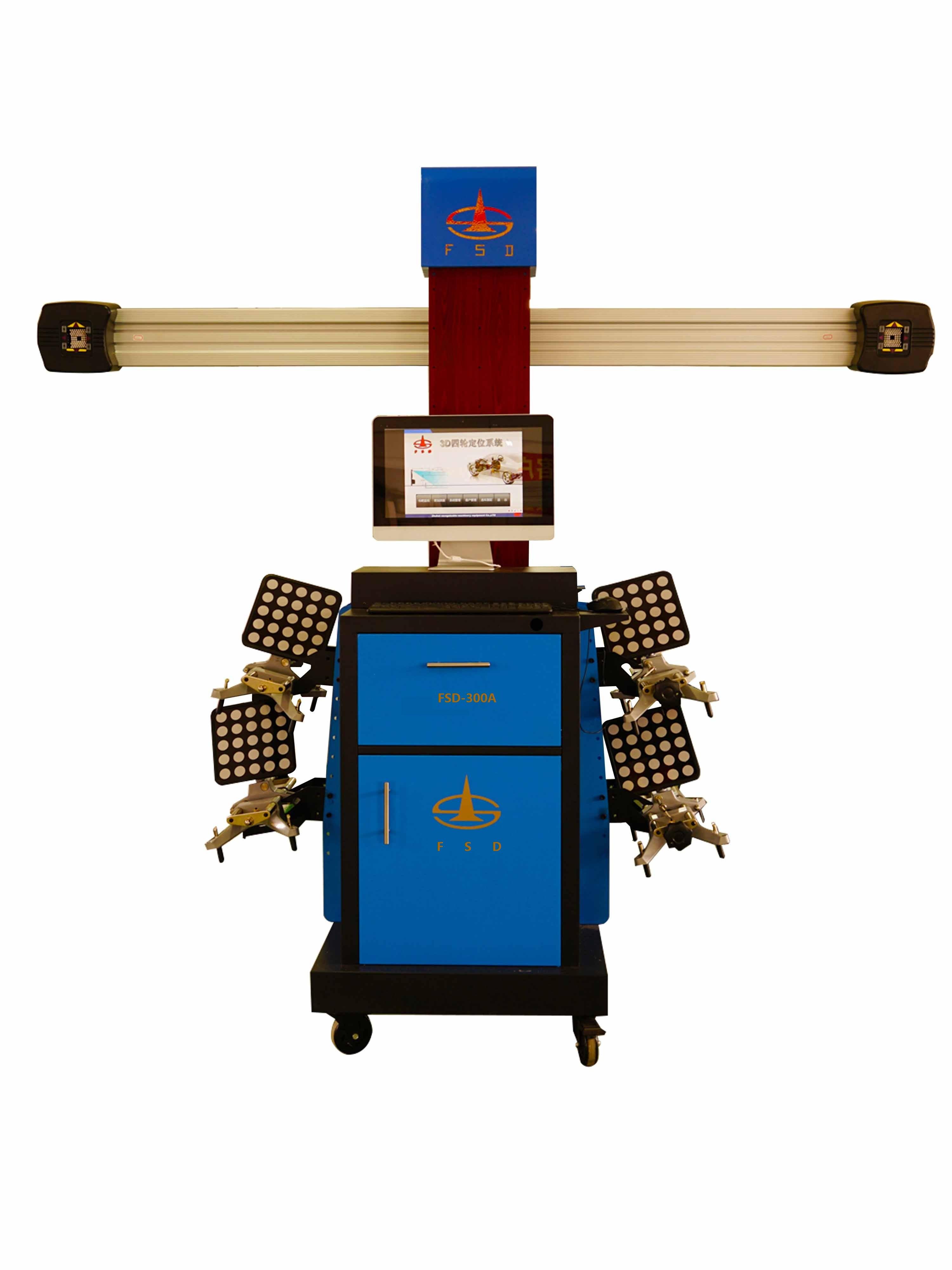 Heavy Duty 3D Four Wheel Positioning Instrument