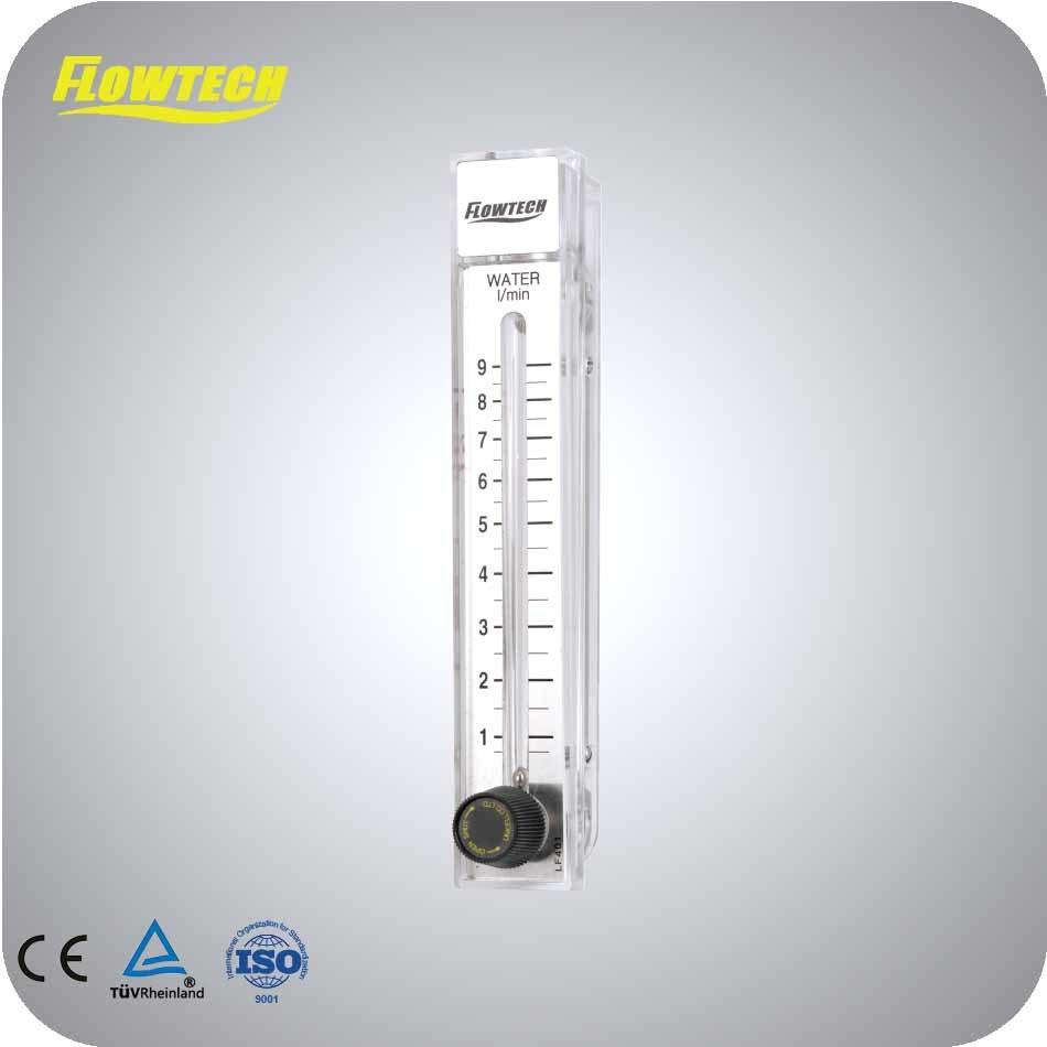 Polycarbonate Plastic Gas Flowmeter