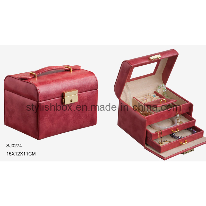 Portable Elegant Travel Jewelry Box
