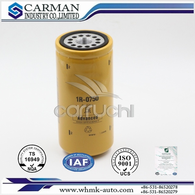 Fuel Filter (1R0770) for Cat Excavator, Filters for Construction Machinery, Oil Filter, Auto Parts, Hydraulic Oil Filter