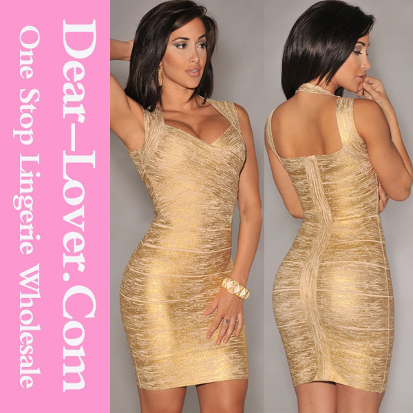 2016 Sexy Fashion Cocktail Formal Evening Prom Gown Party Bandage Dress