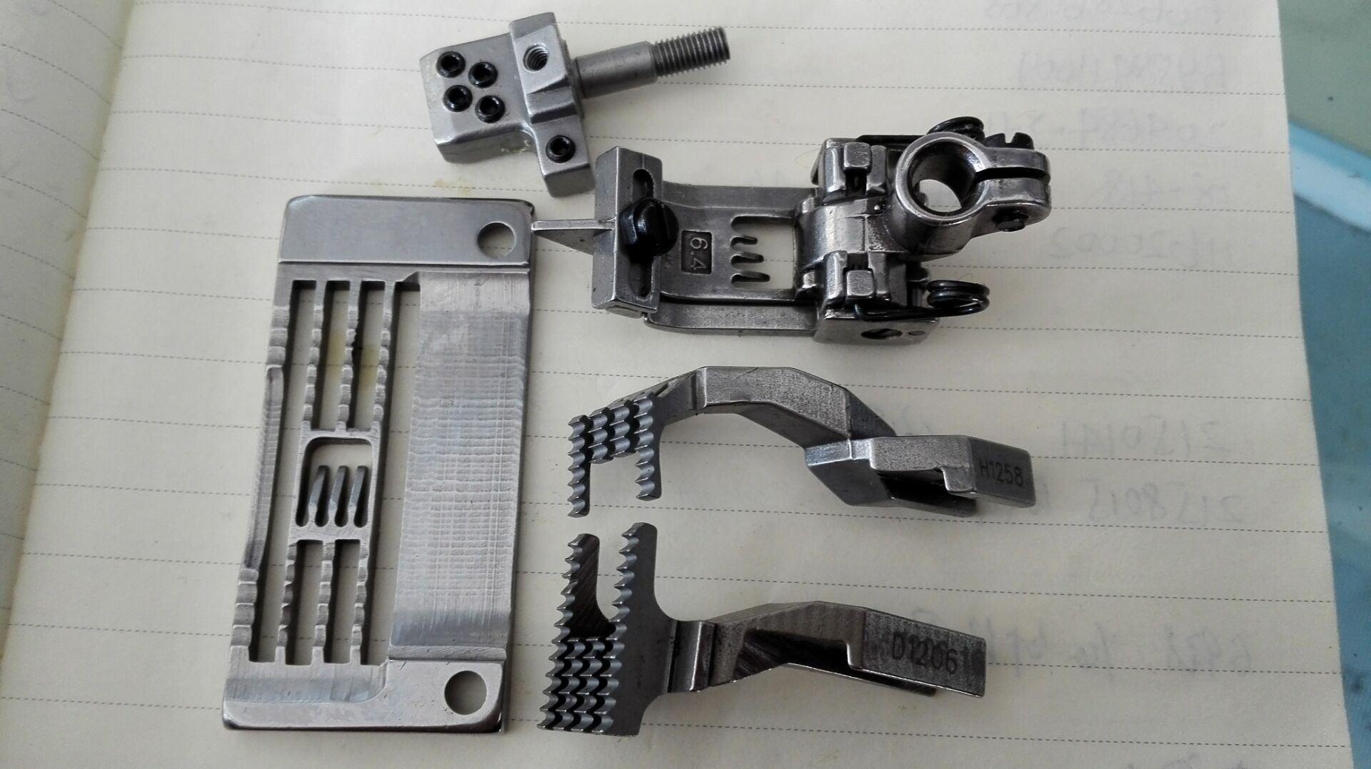 Suraba 4needle 6thread Gauge Set Sewing Machine Parts