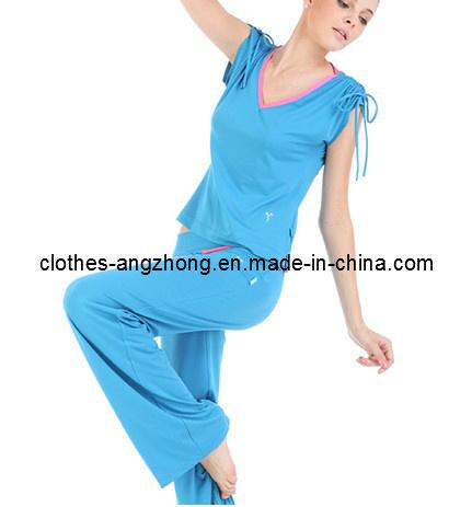 Комплект женщины трико одежды пригодности лета верхней части