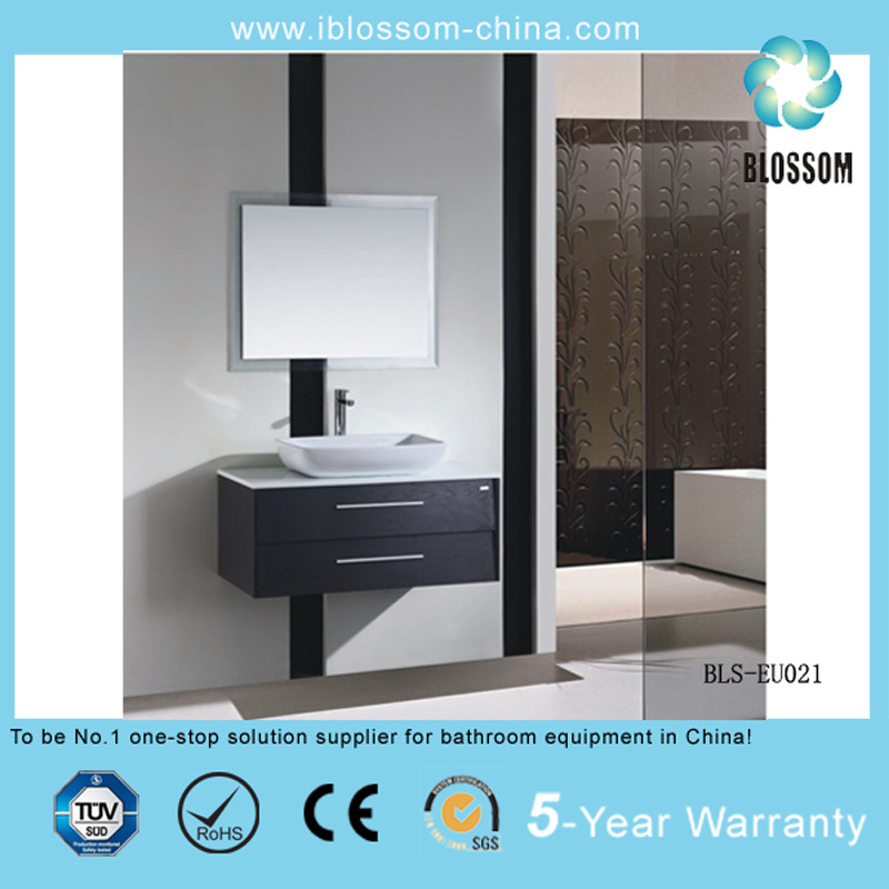 MDF European Style Bathroom Cabinet, Vanity, Furniture, Sanitary Ware (BLS-EU021)