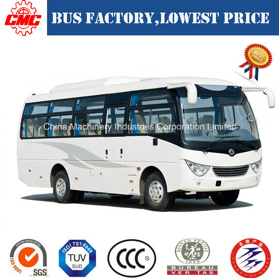 Rhd/LHD 27 Seats of Dongfeng 140HP Tourist Coach/Bus