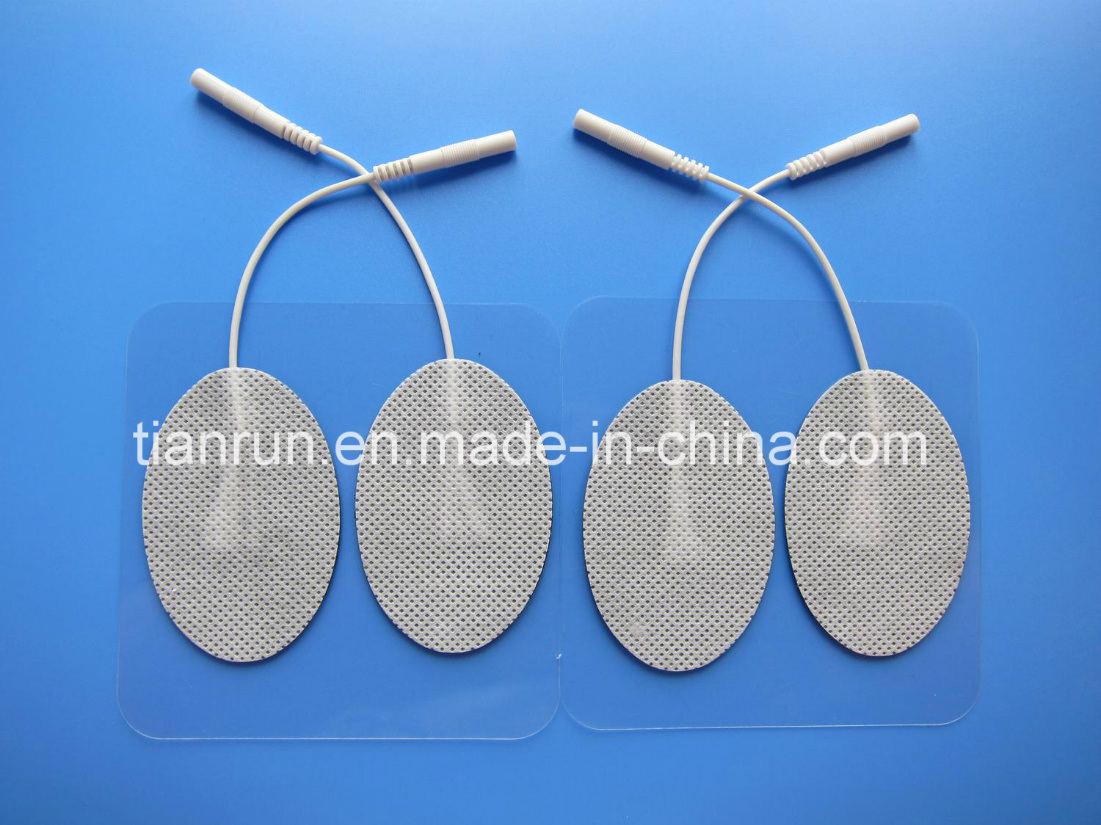 Tens Electrode, Oval Shape, 40*60mm