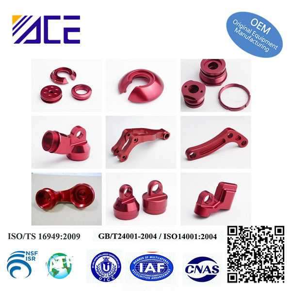 Custom High Precision Chinese CNC Machining ATV Parts