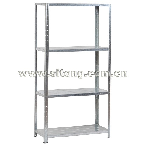 Free Standing Four-Shelf Metal Shelf Storage Steel Storage Rack (DX-04)