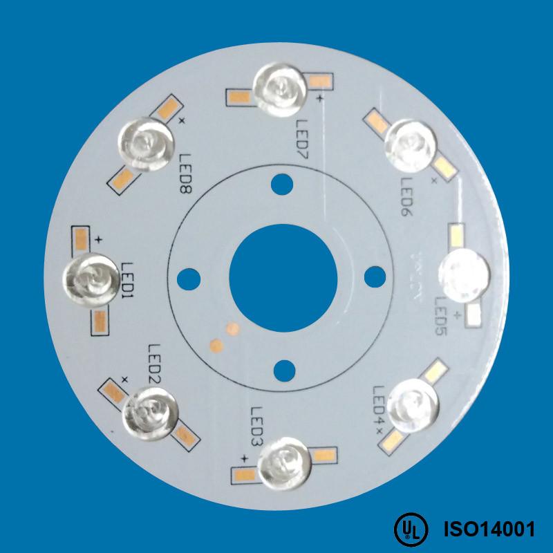 1.0W/M. K Aluminium Hal LEED Free PCB Board Manufacturing