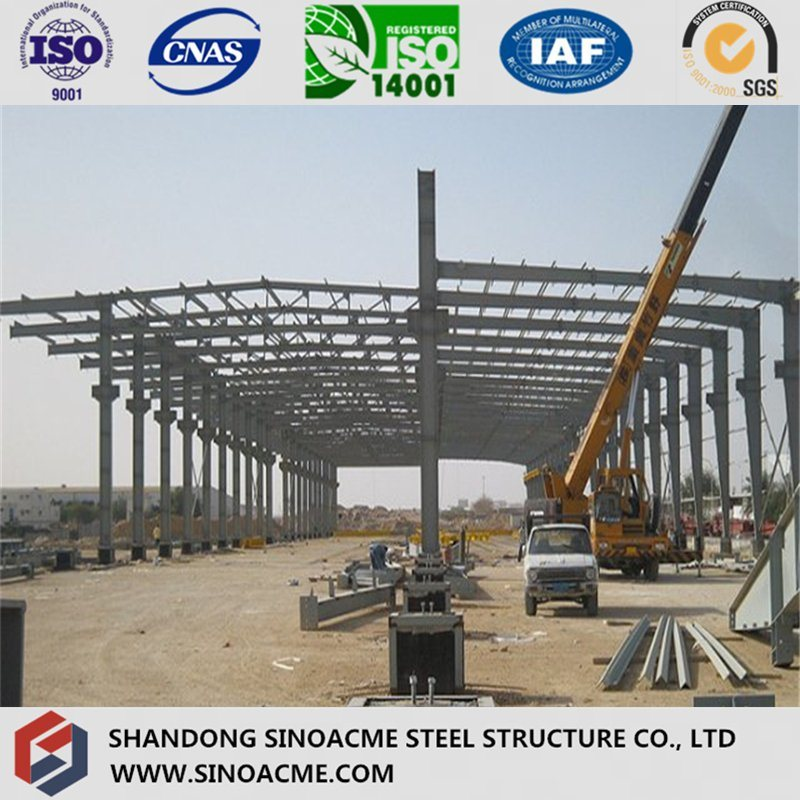 Steel Structure Construction Workshop Shed