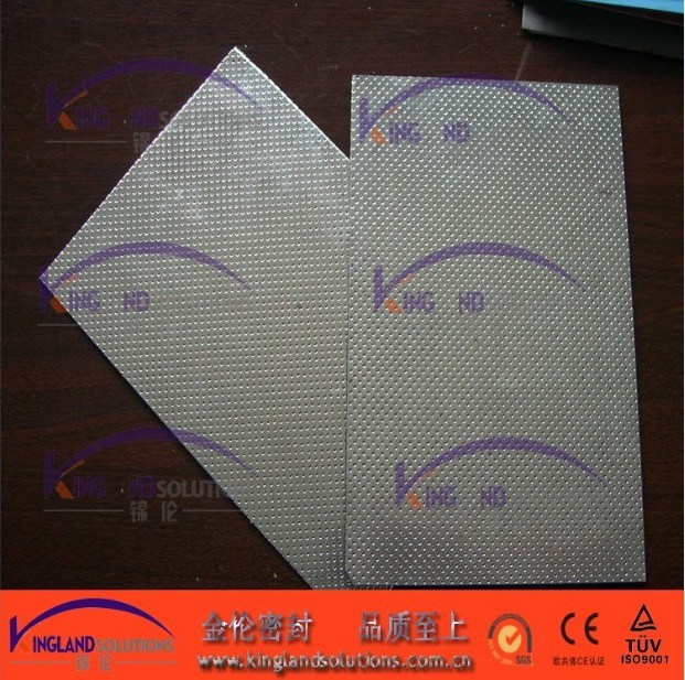 (KL1006) Asbestos Beater Sheet with Double Face Metal